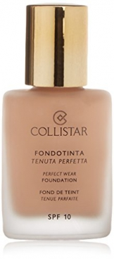 Collistar 41092 Perfect Wear SPF 10 Fondotinta - 1 Prodotto, Medium Beige - 1