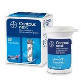 Contour Next Strisce Reattive Misurazione della Glicemia, 50 Pezzi - 1