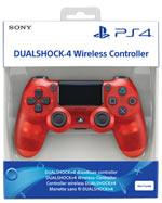 Controller PlayStation 4 - DUALSHOCK®4 V2 Red Crystal