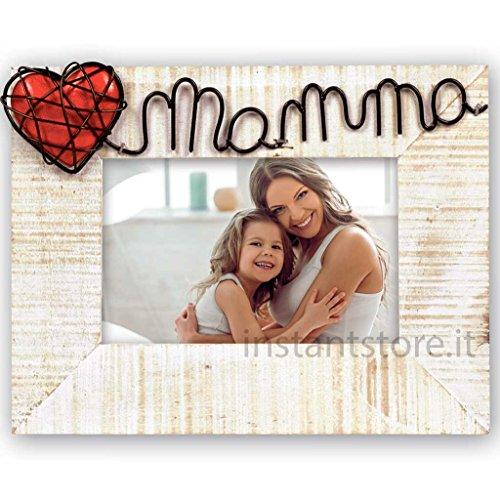 Cornice Fotografica ZEP Maria Hi Portafoto Orizzontale 10x15 idea regalo per festa della mamma o natale - 1