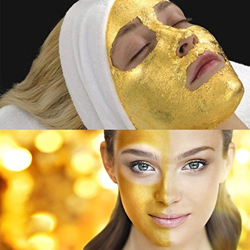 Cosprof 24K Gold Facial Mask for Anti Wrinkle Anti Aging Facial Treatment,Wrinkles and Fine Lines Minimizer,Acne Scar Treatment & Blackhead Remover- 8.8 Oz - 1