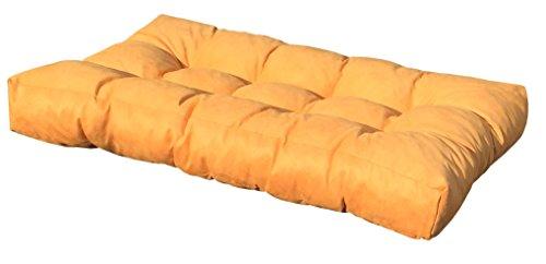Cuscino per bancale 120x80x15 cm - cuscino per seduta divano pallet di legno - COLORE BORDO' - 1
