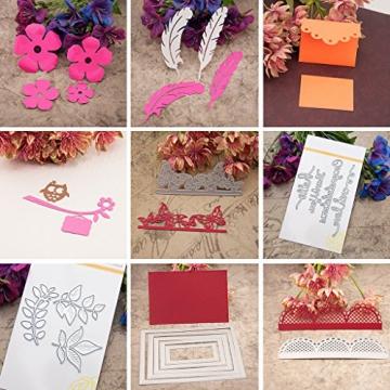 Dabixx fustelle in metallo, scrapbook album per scrapbooking stencil, punch biglietti Crafts Butterfly - 1