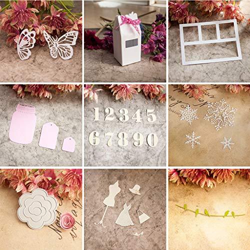 DACHUN11latte box fustelle in metallo, modello goffratura stencil DIY carta scrapbooking album Craft Kids Christmas DIY Cards Decor - 1