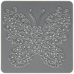 """Die-Versions Whispers Die-Butterfly Kisses, 3.5""""X3.125"""" - 1"""