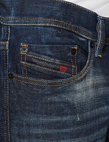 Diesel Tepphar L.32 Pantaloni Jeans Slim Uomo, Blau (Denim 01) 33W x 32L - 3