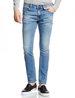 Diesel Thavar Pantaloni, Skinny Jeans Uomo, Blau (Light Blue 0842H), 32W x 30L - 1