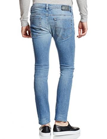 Diesel Thavar Pantaloni, Skinny Jeans Uomo, Blau (Light Blue 0842H), 32W x 30L - 2