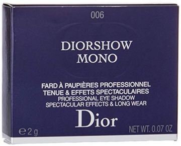 Dior Diorshow Mono Ombretto, 006Infinity - 2 gr - 3