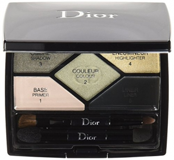 Dior Ombretto, 5 Couleurs Designer, 5.7 gr, 308-Khaki - 1