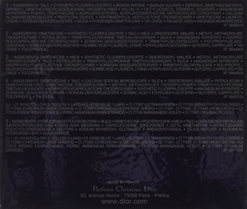 Dior Ombretto, 5 Couleurs Designer, 5.7 gr, 308-Khaki - 2