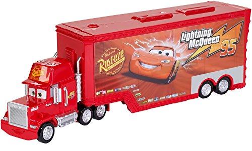 Disney - Cars  Trasportatore di Cruz Ramirez, Multicolore, FTT93, Modelli/Colori Assortiti, 1 Pezzo - 1
