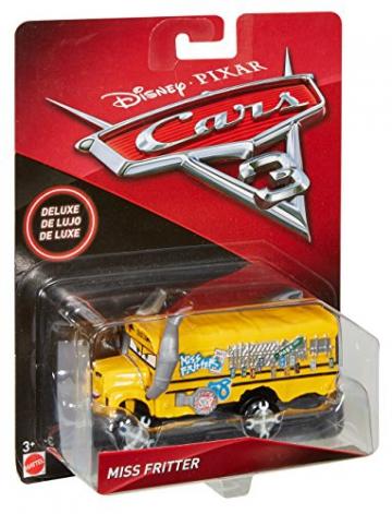 Disney - Cars Veicolo Miss Fritter Deluxe, DXV94 - 14