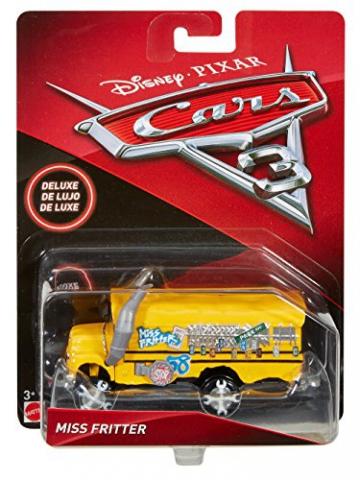Disney - Cars Veicolo Miss Fritter Deluxe, DXV94 - 6