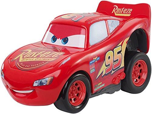 Disney Pixar Cars 3 Saetta McQueen Premi e Sfreccia Veicolo, DVD32 - 1