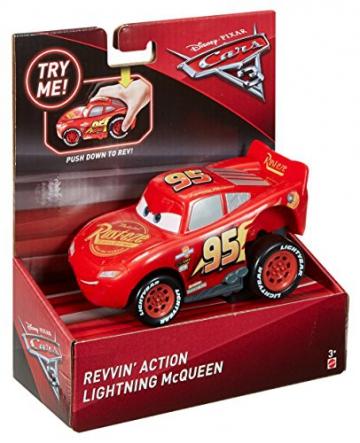 Disney Pixar Cars 3 Saetta McQueen Premi e Sfreccia Veicolo, DVD32 - 10