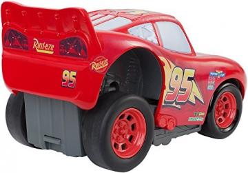 Disney Pixar Cars 3 Saetta McQueen Premi e Sfreccia Veicolo, DVD32 - 9