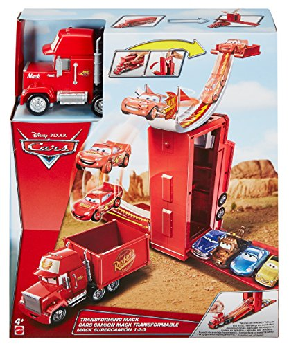 Disney Pixar Cars Mack Transformabile 3-in-1 Playset, DVF39 - 1