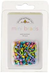 "Doodlebug Mini Brad 1/8""Puntine 100/Pkg-pastello - 1"