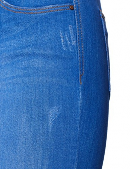 Dorothy Perkins Bright Blue Harper Jeans skinny Donna, Blu (Blue 110), 40 EU (12R UK) - 1