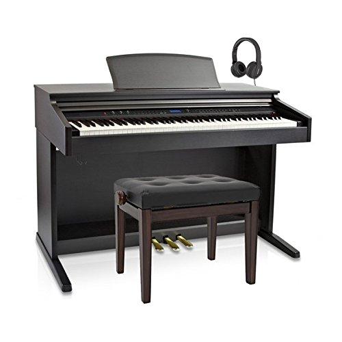DP-20 Pianoforte Digitale di Gear4music + Pacchetto Sgabello Piano - 1