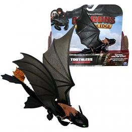 Dragons - Action Game Set - Drago Sdentato notte con le ali mobili - Toothless - 1