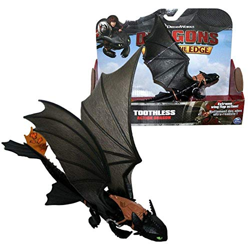 Dragons - Action Game Set - Drago Sdentato notte con le ali mobili - Toothless - 1
