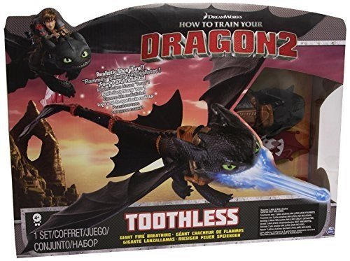 Dragons Dragon Trainer Action Sdentato Night Strike, 6019879 - 1