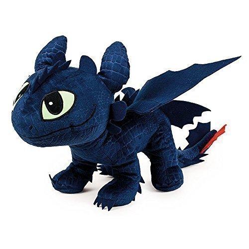 Dragons - Peluche drago Sdentato Toothless 40x12x32 cm - 1