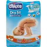 Dry Fit Advanced Diapers Extra Large 14X10