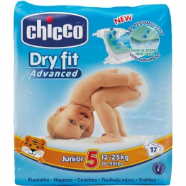 Dry Fit Advanced Diapers Junior 17X10