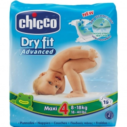 Dry Fit Advanced Diapers Maxi 19X10