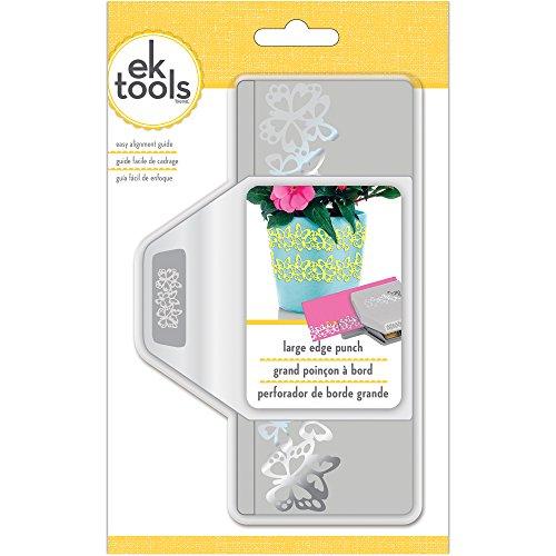 "EK Tools ""Edge Monarch Butterfly punch, grigio, Large - 1"
