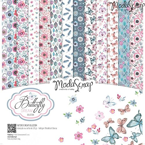 Elizabeth Craft Designs Butterfly Dream confezione di carta,, 12x 30,5cm - 1