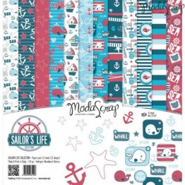 Elizabeth Craft Designs vita da marinaio confezione di carta,, 12x 30,5cm - 1