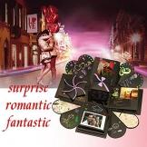 Explosion Box DIY Photo Album Creativo Album Scrapbook per Matrimoni, Festa della Mamma, Compleanno Anniversario,San Valentinoi - 1