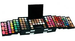 FantasyDay® 144 Colori Palette Ombretti Cosmetico Tavolozza per Trucco Occhi con 3 Correttore e 3 Blush - Adattabile a Uso Professionale che Privato - 1