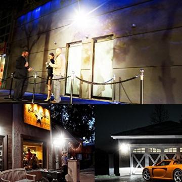 Faretto LED Con Sensore Di Movimento 30W, Minger Proiettore LED Esterno Impermeabile IP65 2400LM 6000K Faro LED Esterni per Giardino, Corridoio, Terrazza, Patio, ecc. - 2