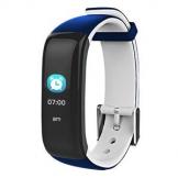 FIERRO SMARTWATCHES Smartband Oxygen Plus  Blu Scuro E Grigio  22,5x2x1,3 cm