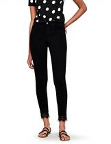 FIND 62909 jeans donna, Nero (Black), W29/L32 (Taglia Produttore: 42/44) - 1