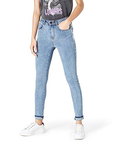 FIND DC2752S jeans donna, Blu (Denim), W28/L32 (Taglia Produttore: Small) - 1