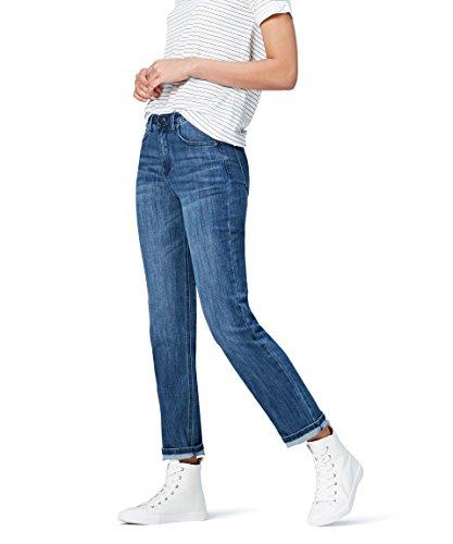 FIND DC3376S jeans donna, Blu (Mid Wash), W30/L32 (Taglia Produttore: Medium) - 1