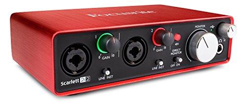 Focusrite, Scarlett 2I2 2Nd Generation, Interfaccia Audio Usb - 1