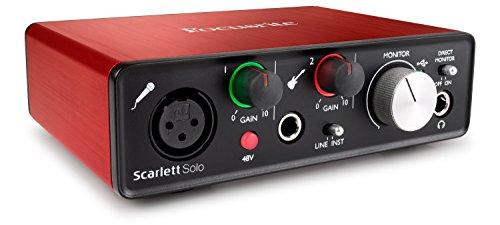 Focusrite, Scarlett Solo 2Nd Gen, Interfaccia Audio Usb - 1