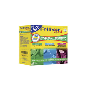 Friliver Sport Kit Long Energy 8 Bustine
