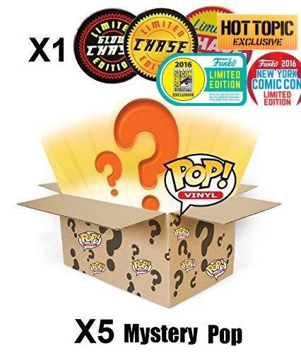 Funko POP! Mystery 6 Pack include 1 Random edizione limitata, esclusivo o Chase figura - 1