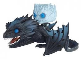 Funko Pop! Rides Game of Thrones Viserion & Night King Statua Collezionabile Colore Standard 28671 - 1