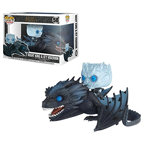 Funko Pop! Rides Game of Thrones Viserion & Night King Statua Collezionabile Colore Standard 28671 - 1