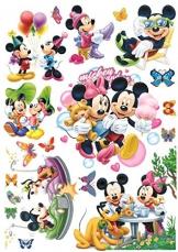 Funky Planet bambini adesivi murali, adesivi murali camera da letto, arredamento camera dei bambini, decorazione della parete sala giochi (Mickey) - 1