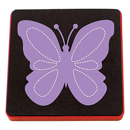 Fustella Bigz farfalla grande animale Big Shot Sizzix A10120 - 1